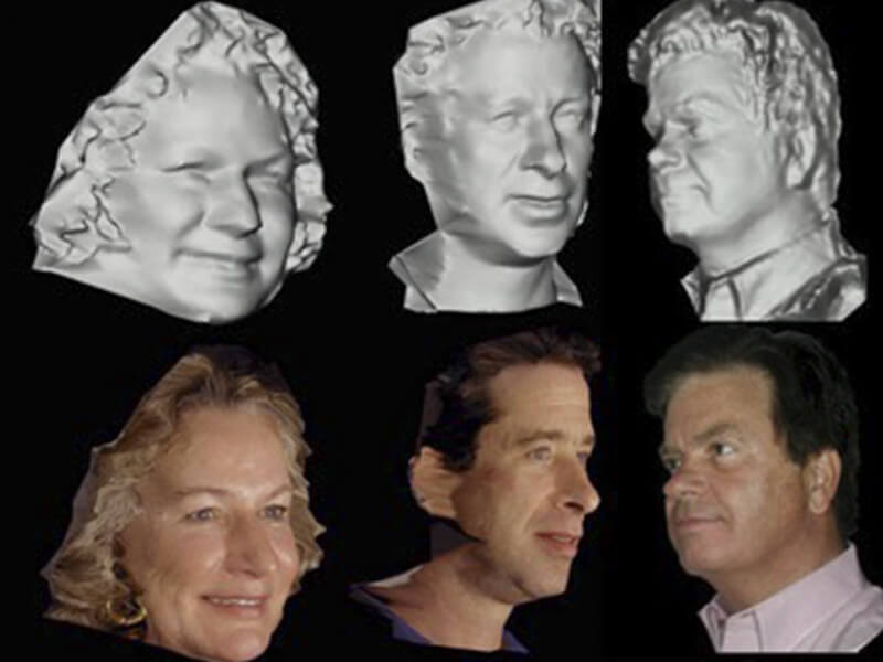 1st 3D Facial Biometric System