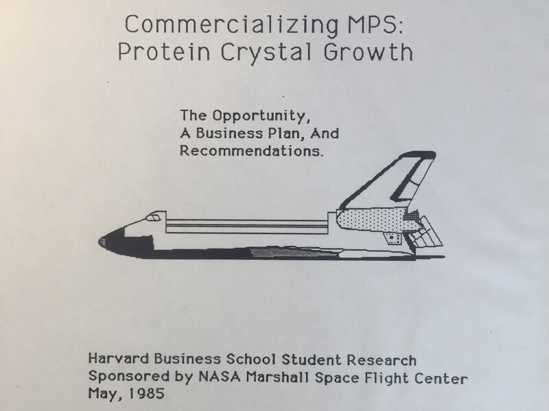Commercializing Protein Crystal Growth In Space
